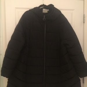 ASOS warm coat with hood
